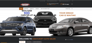 Web Designer for Car Dealerships | Craycroft Auto Sales